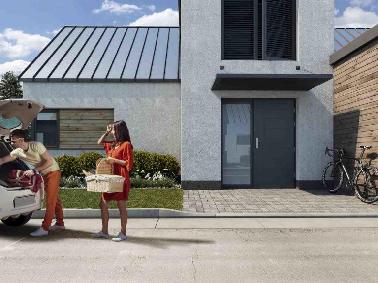 Silne wzmocnienie termiki drzwi CAL certyfikowane w Niemczech